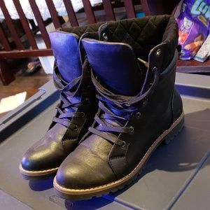 Leather Nautica Boots